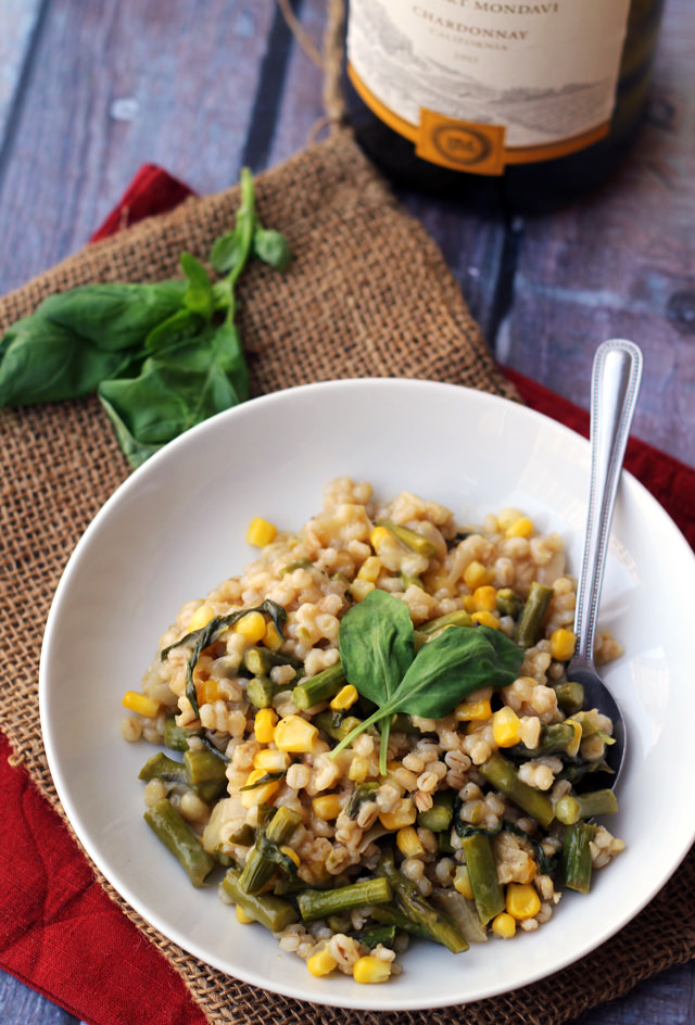 Roasted Corn and Poblano Risotto | Joanne Eats Well With Others