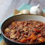 Dal Makhani (Black Lentils with Rich Tomato Sauce)