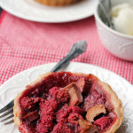 Mini Raspberry-Rhubarb Pies {#GIVEAWAY}