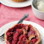 Mini Raspberry-Rhubarb Pies {#GIVEAWAY}