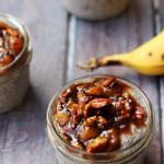 Bananas Foster Chia Pudding