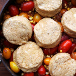 spicy fiesta tomato cobbler