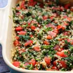 Mediterranean Tabbouleh Hummus Dip