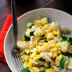 Gnocchi with Summer Squash, Corn, Basil, and Feta