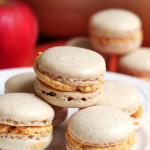 ginger macarons with pumpkin bourbon buttercream