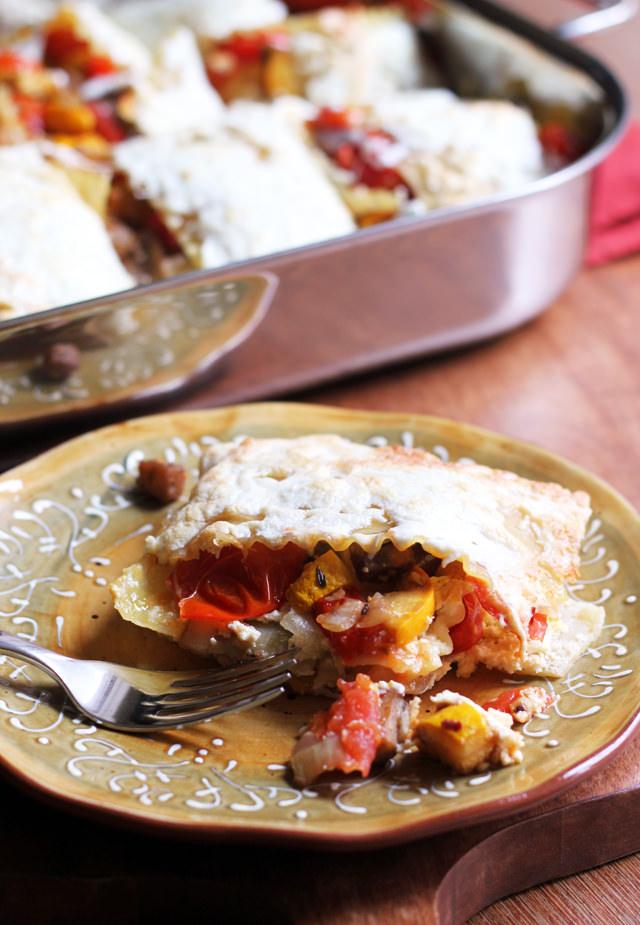 ratatouille lasagna