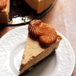 Pumpkin Mousse Cruller Black-Bottomed Tart