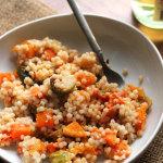 Roasted Vegetable Harvest Salad with Sesame Chili Sauce