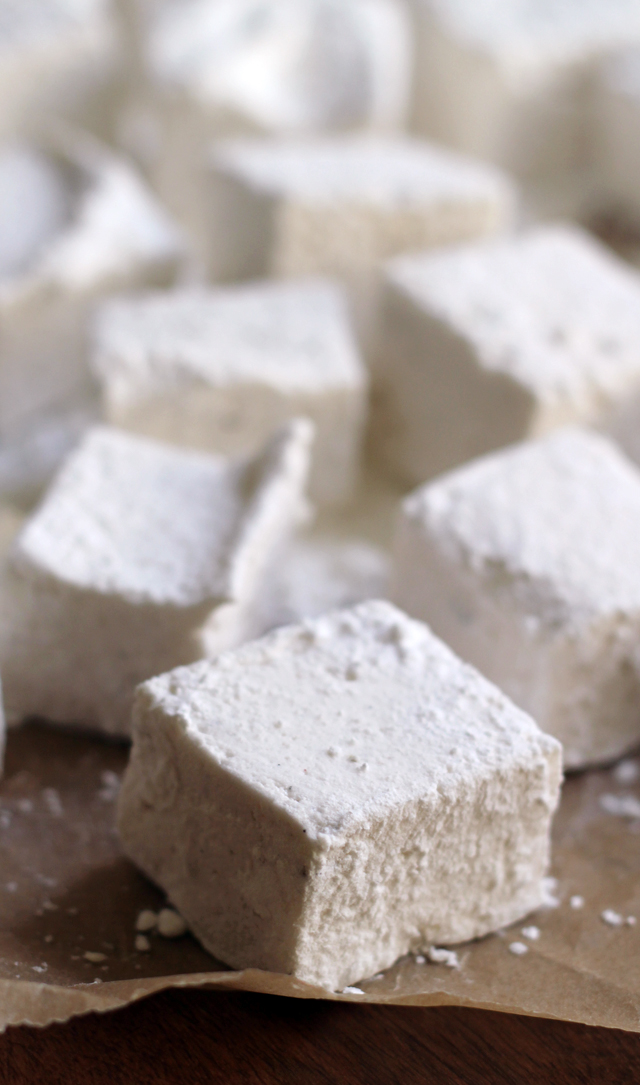 vanilla bean black pepper marshmallows