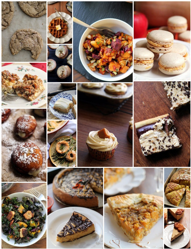 vegetarian thanksgiving recipe roundup