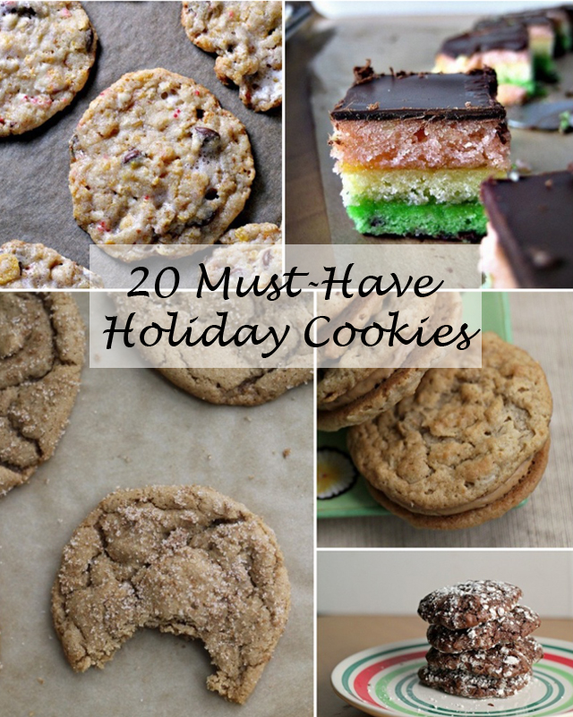 20 must-have holiday cookies