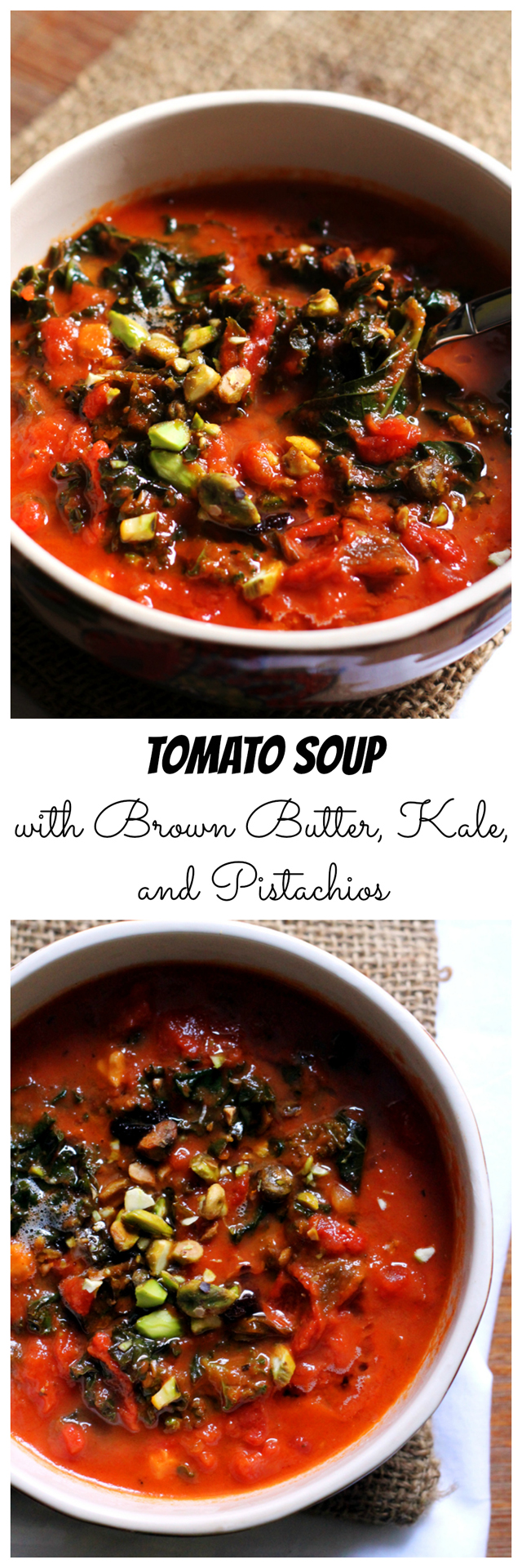 Brown Butter Tomato Soup Recipe — Dishmaps