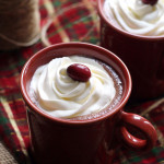 Cranberry Cinnamon Hot Chocolate