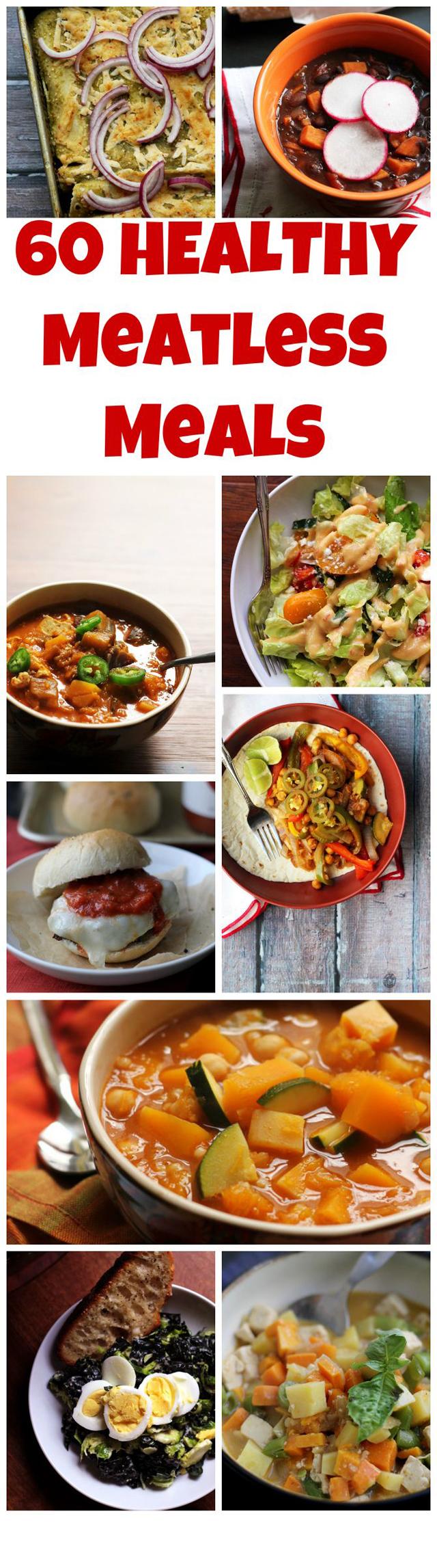 60 Healthy Vegetarian Meals