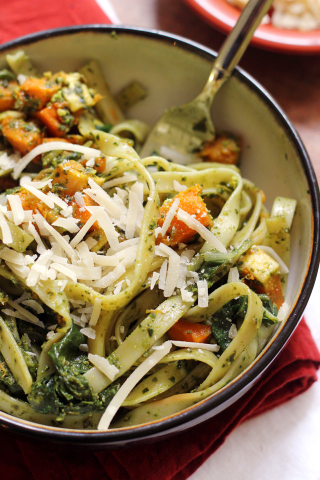 Spaghetti with Cauliflower and Garlicky Swiss Chard Gremolata | Joanne ...