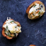 Lemon Caper Parmesan Potato Salad Bites