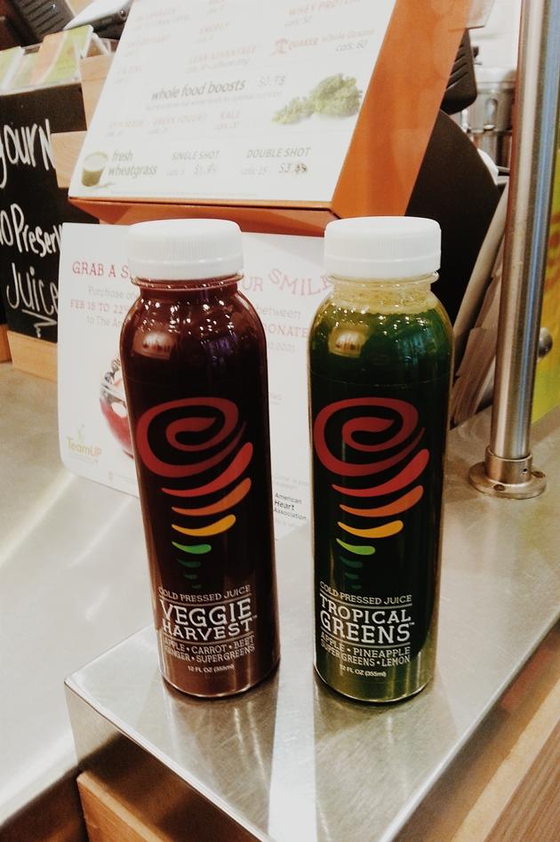 Jamba Juice Cold-Pressed Juices