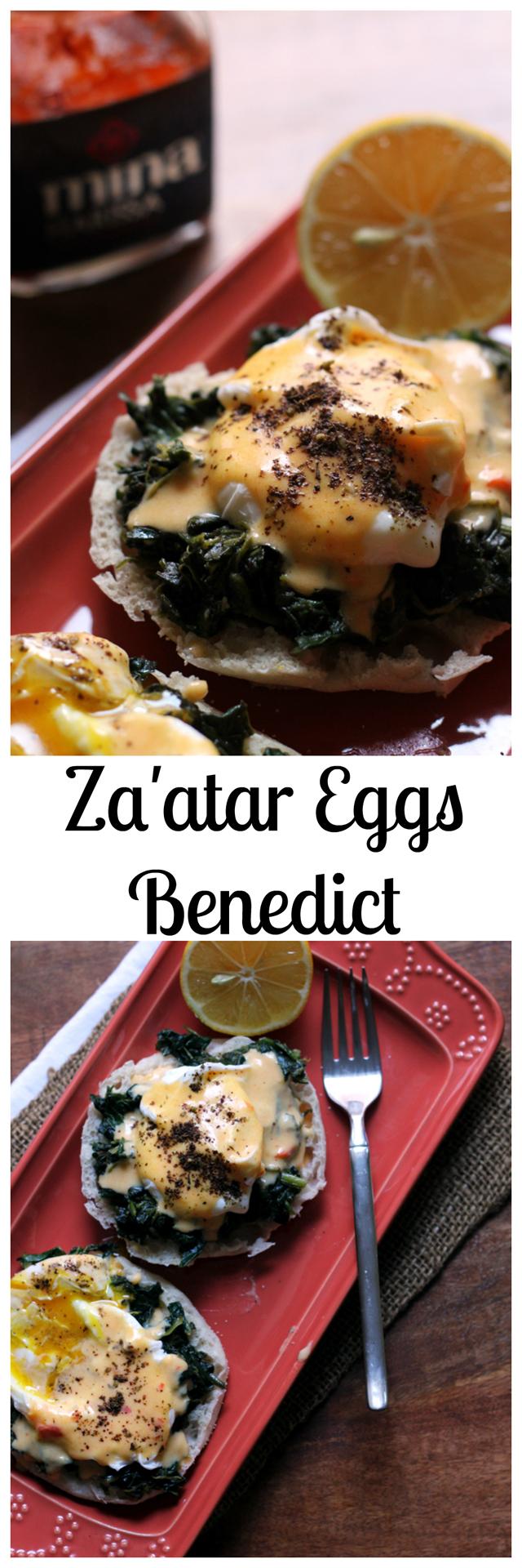 za'atar eggs benedict