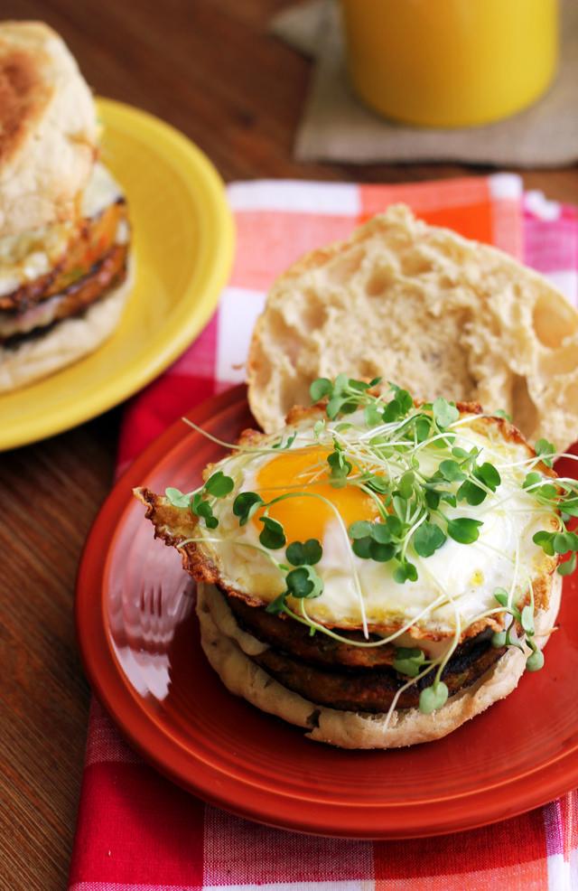 double decker chile relleno breakfast burgers