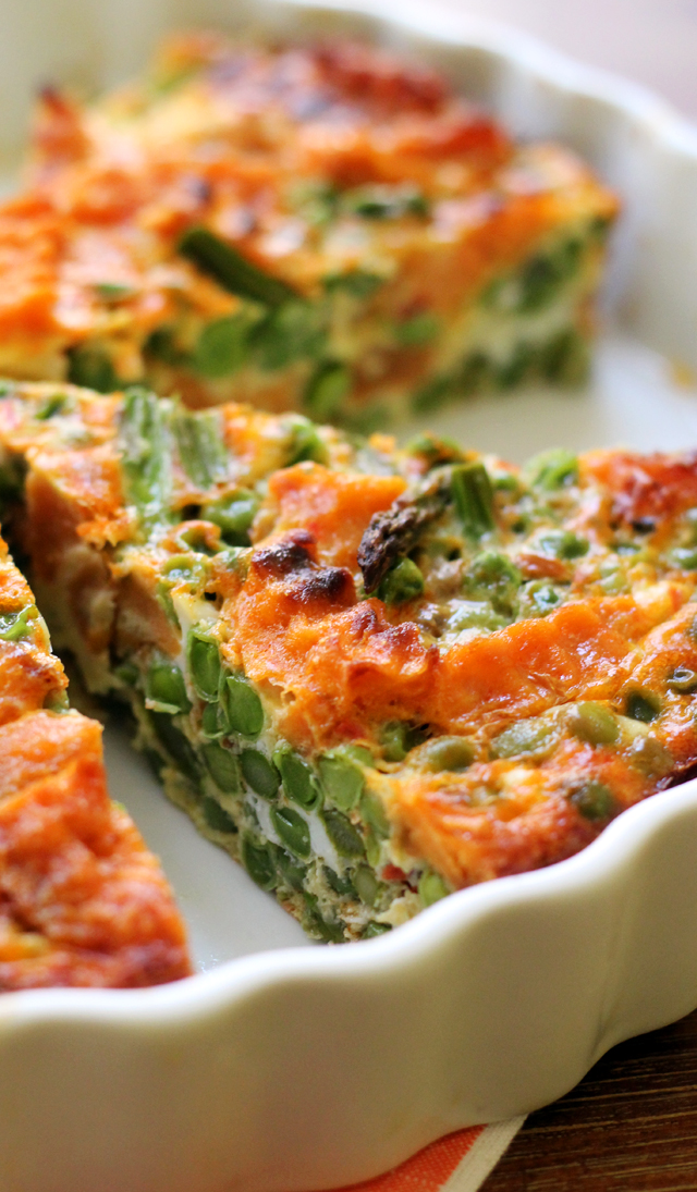 everything but the kitchen sink frittata