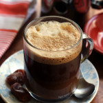caramel mocha latte