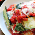 Marathoner's Zucchini Ribbon Lasagna #GIVEAWAY
