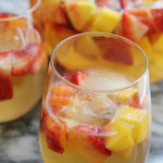 Vanilla Peach, Mango, and Strawberry Sangria