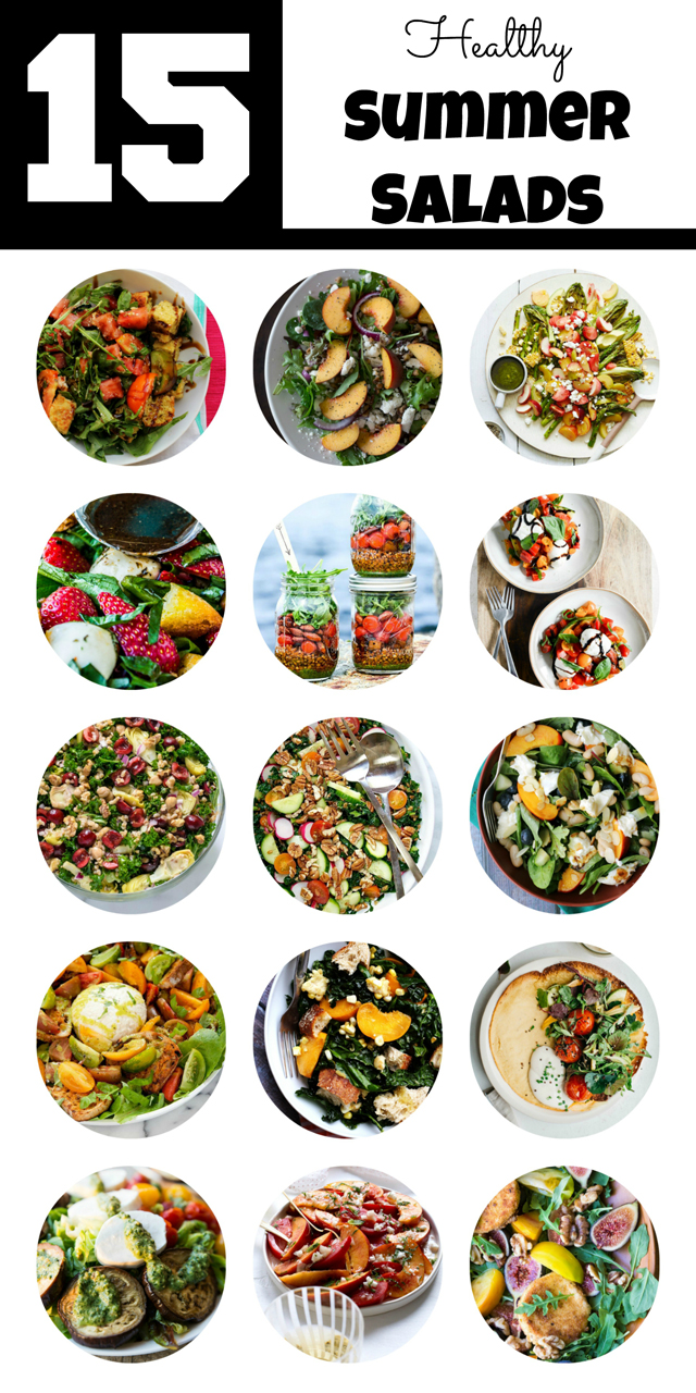 15 Healthy Summer Salads