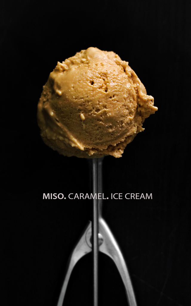 Miso Caramel Ice Cream