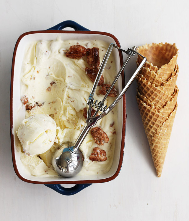 Pecan Praline Ice Cream