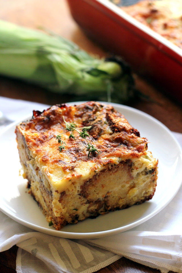 Cornbread Pudding | Joanne Eats Well With Others