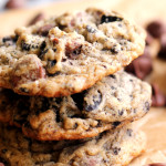 Malted Milk Chocolate Cookies and Cream Cookies