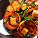 Delicata Squash and Tofu Thai Red Curry
