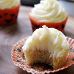 Maple Cupcakes with Maple Cream Cheese Frosting