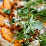 Roasted Sweet Potato and Caramelized Onion Pizza