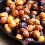 Pan-Roasted Baby Potatoes Browned in Sage-Infused Ghee