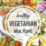 Healthy Vegetarian Meal Plan 8.14.16