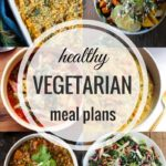 Healthy Vegetarian Meal Plan – 12.10.16