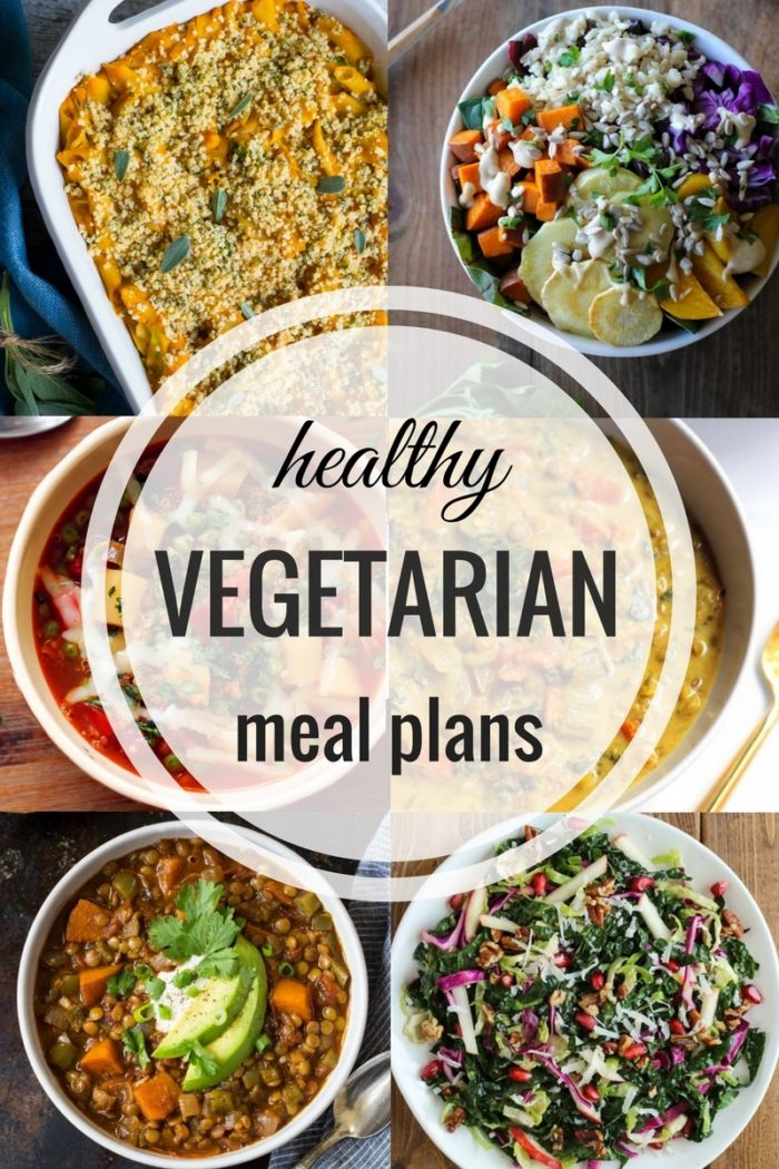 Healthy Vegetarian Meal Plan Fall