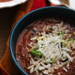 Sweet Potato Lentil Tortilla Soup