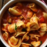Easy 6 Ingredient One Pot Tortellini Primavera Soup