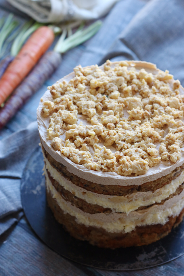 Momofuku Milk Bar Carrot Layer Cake