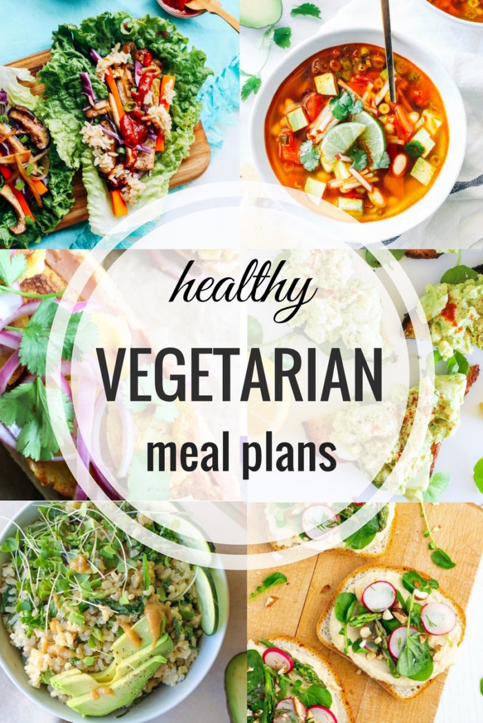 Healthy Vegetarian Meal Plan - Spring
