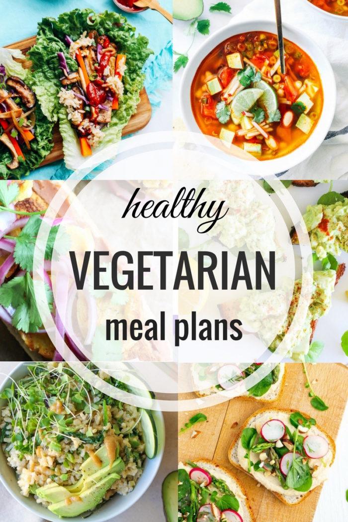 Healthy Vegetarian Meal Plan - Spring