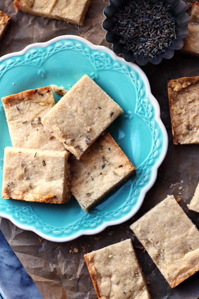 Lavender Vanilla Bean Shortbread