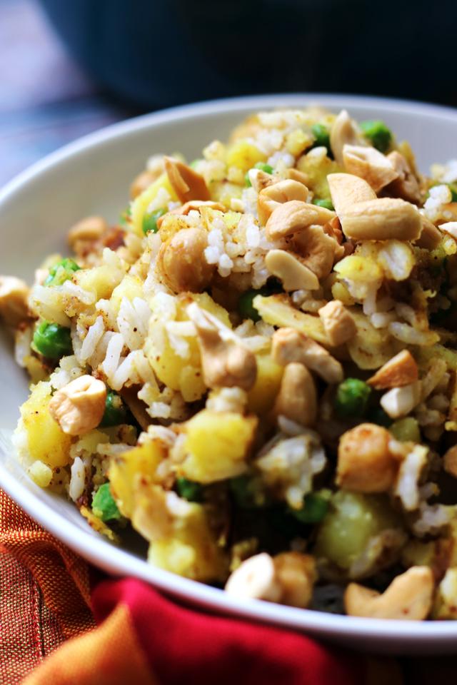 Samosa Potato Salad