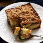 Banana Nutella Coffee Cake