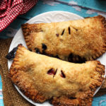 Sweet Cherry Hand Pies with Pinot Noir and Vanilla