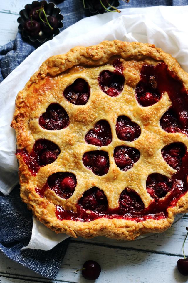 Best Ever Sour Cherry Pie