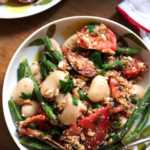 Summer Grain Salad with Heirloom Tomatoes, Green Beans, and Feta